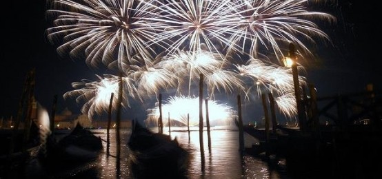 New year's eve in Venice 2016