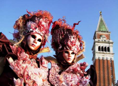 Carnival of Venice, the most cheerfull festival that there is!